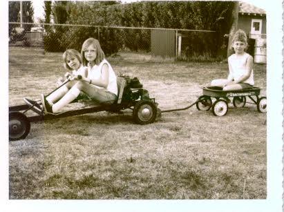 Family memories - gocart fun 1968