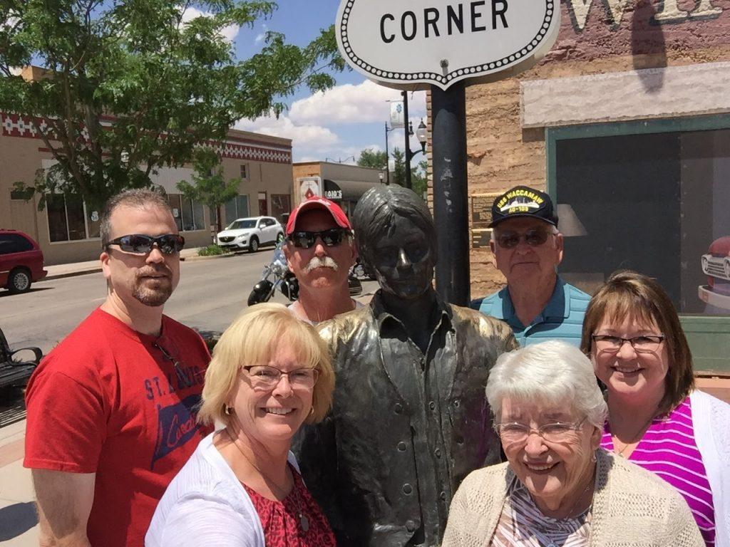 Standing on the Corner, Winslow, AZ, 2016