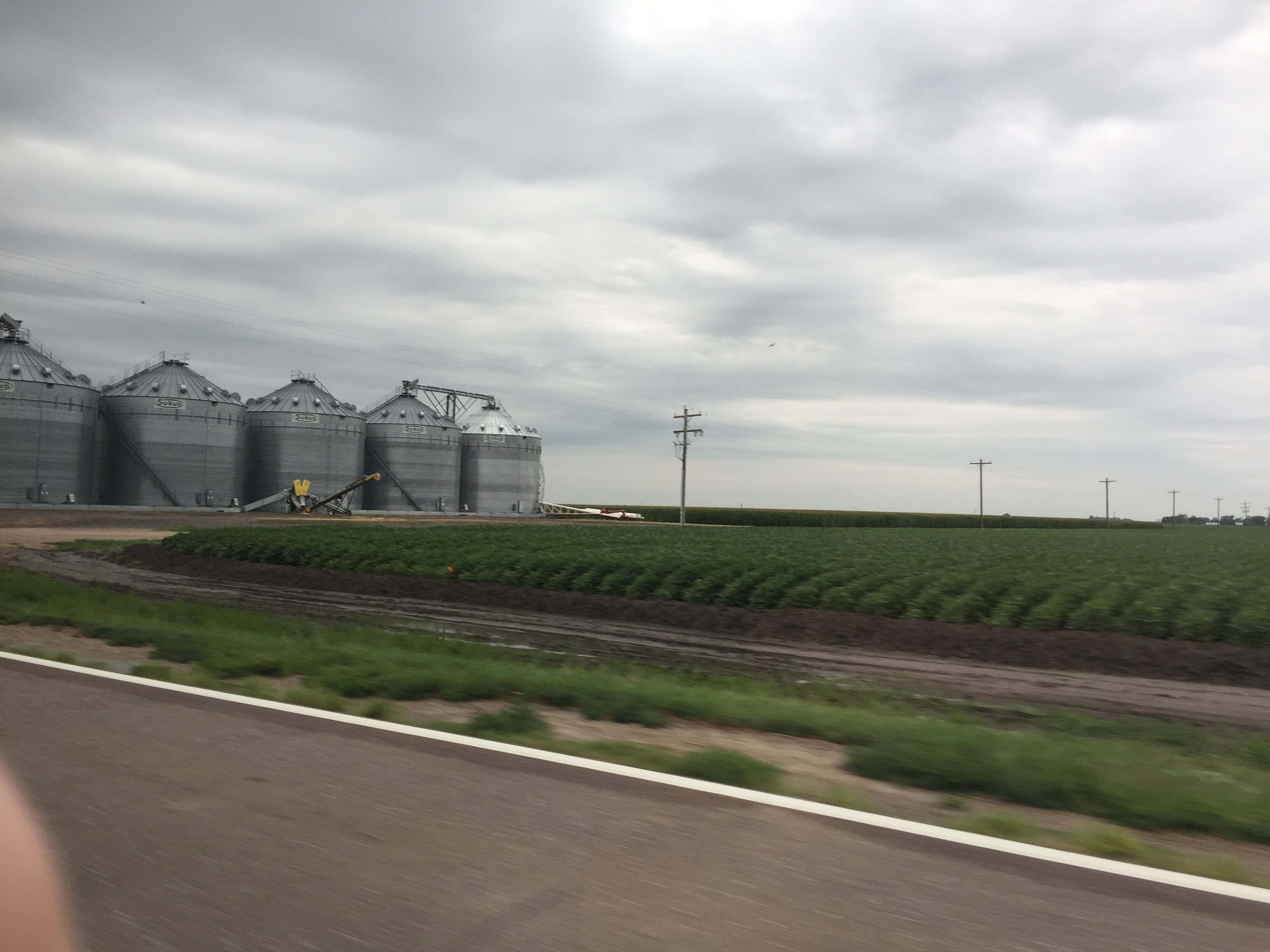 Silos, Nebraska, 2017