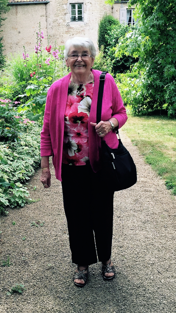 Mom, Chateau d'Ige, France, 2015
