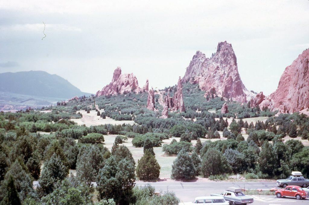 Colorado Garden of the Gods 1973