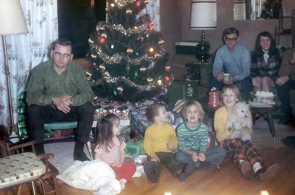 Christmas Ruth & Sully's 1969